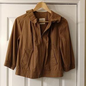 Women's tan casual jacket